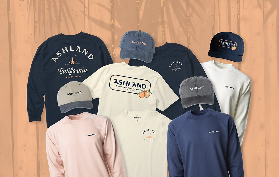 Ashland Golden Nectar t shirt hat apparel
