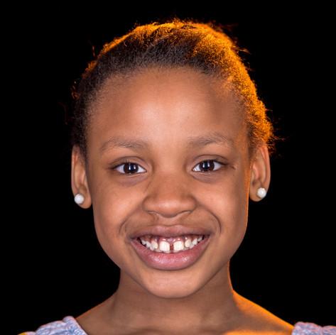Anisha, 8, Angola / Südafrika
