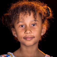 Noemi, 7, Kamerun / Schweiz