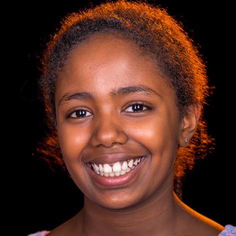Samira, 10, Äthiopien