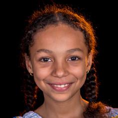 Nisrine, 9, Burkina Faso / Schweiz