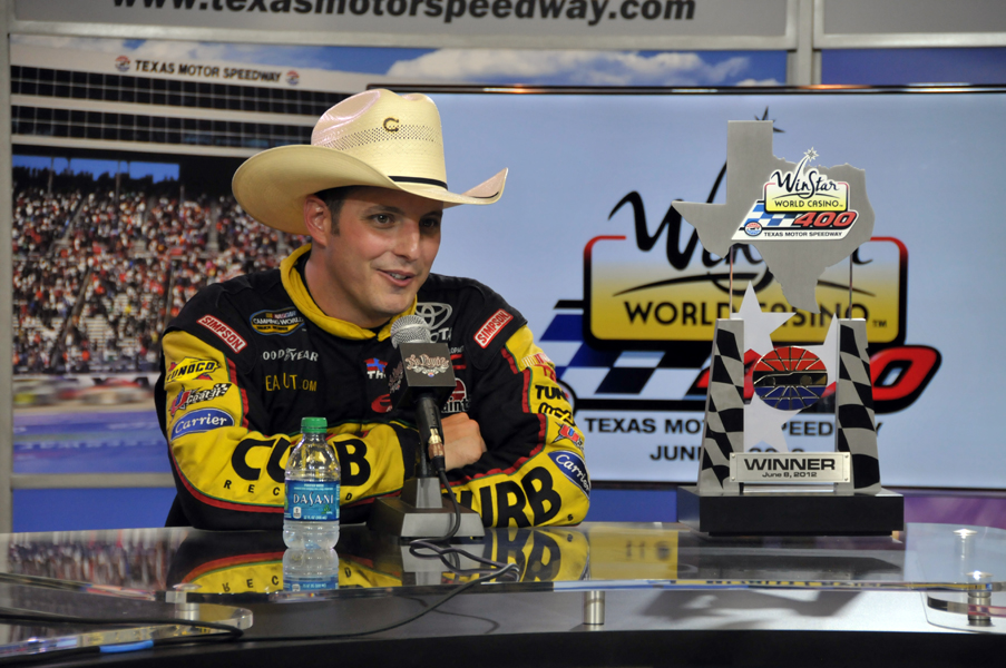 Sauter Wins Texas NASCAR Trucks