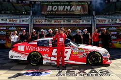 Alex Bowman Texas Pole