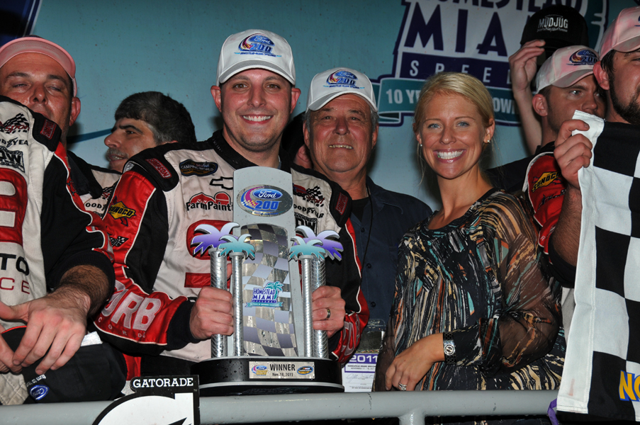 Sauter Wins Homestead NASCAR Trucks
