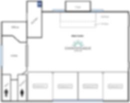 Center Floor plan