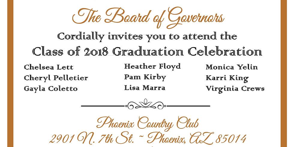 Class of 2018 Graduation Celebration Dinner