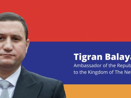 Tigran Balayan, ambassadeur Armenië: 'Het is tijd om een kant te kiezen'
