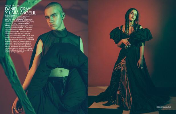 Feroce Magazine Cover story