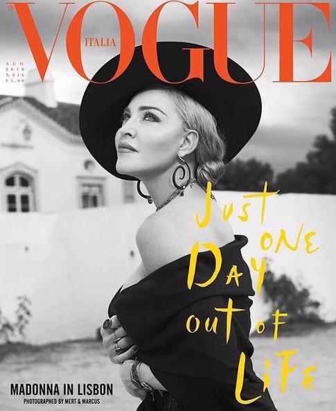 Madonna x Vogue