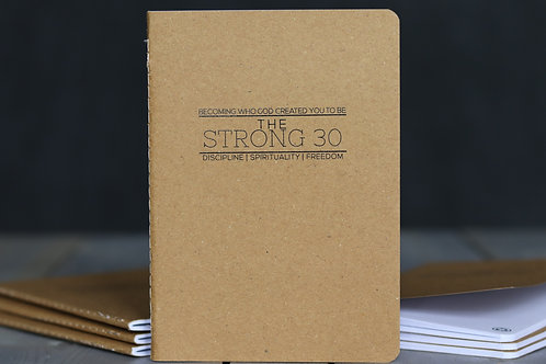 The Strong 30 Notebook