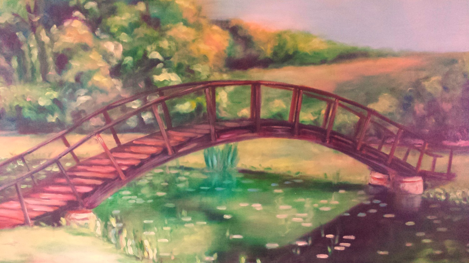 Bridge in Oil