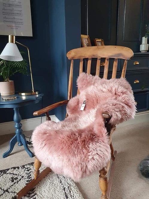 Large Pink Sheepskin