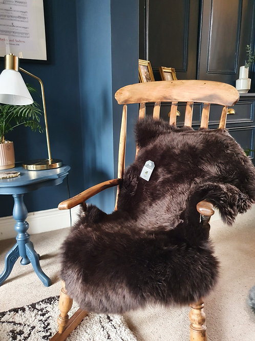 Large Chocolate Sheepskin