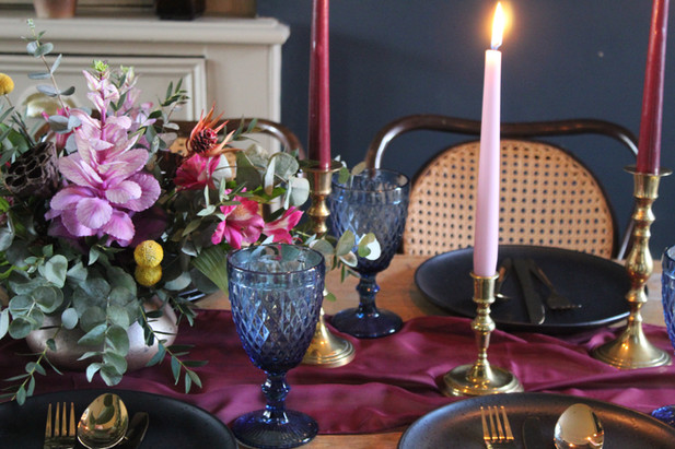Moody Table Setting
