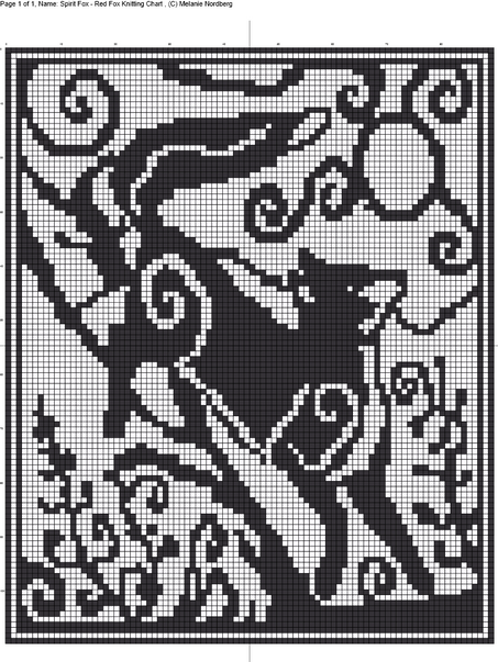 Double Knitting & Filet Crochet Charts