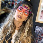Maquillaje de Halloween para Korina Rivadeneira
