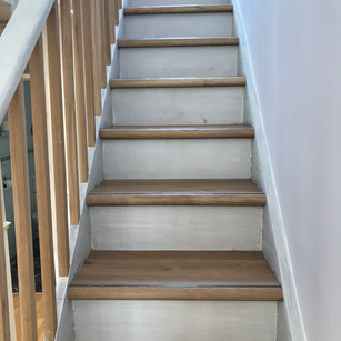 LVT Stairs and Hall with Nosings #1