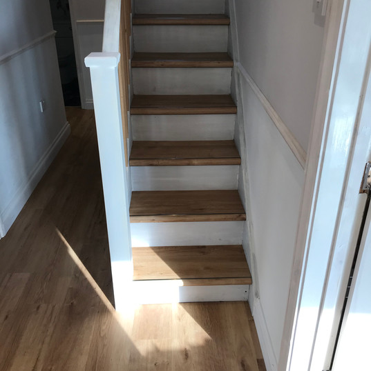 LVT Stairs and Hall with Nosings #2