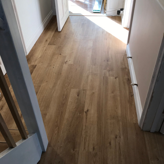 LVT Stairs and Hall with Nosings #3
