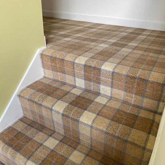 Brintons Axminster Carpet Tartan Design #1