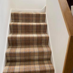 Brintons Axminster Carpet Tartan Design #2