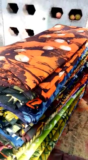 Selection of Batik and Tie & Dye