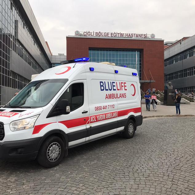 izmir özel ambulans