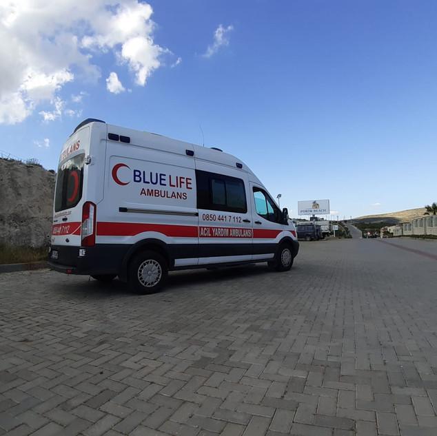 muğla özel ambulans