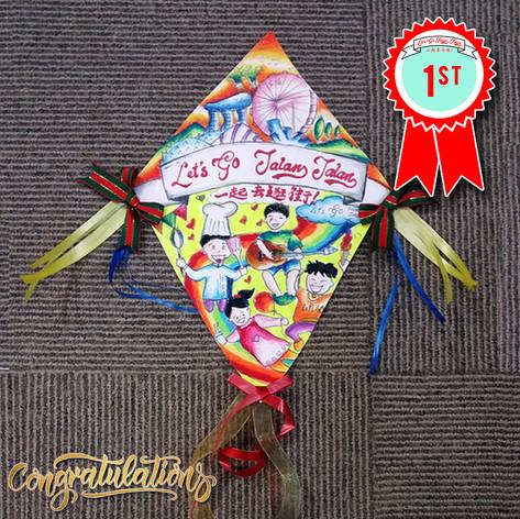 Kite Craft Contest Winner - 1st Place