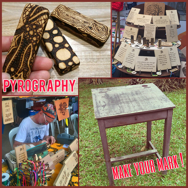 Make Your Mark with Pyrography