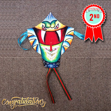Kite Craft Contest Winner - 2nd Place
