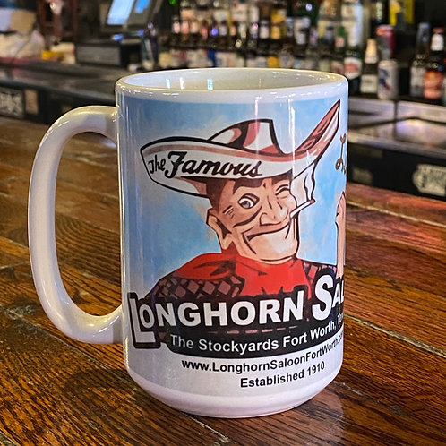 """Mascot - Blue Sky"" Coffee Mug"