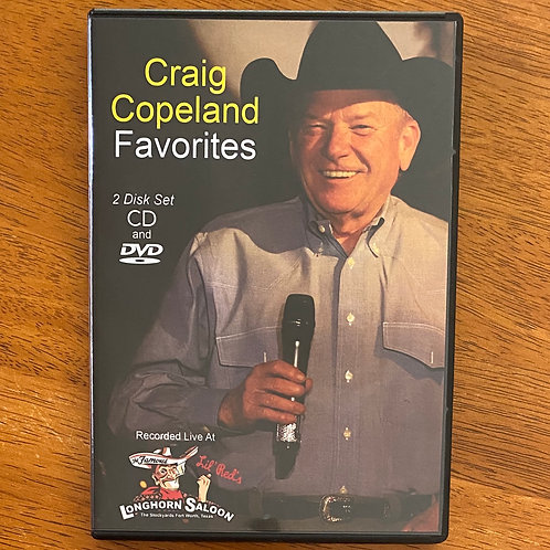 DVD + CD Combo - Craig Copeland Favorites