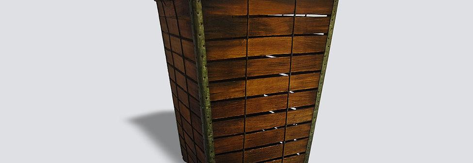 Wood Storage Basket