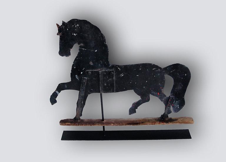 Prancing Sheet Horse Vane