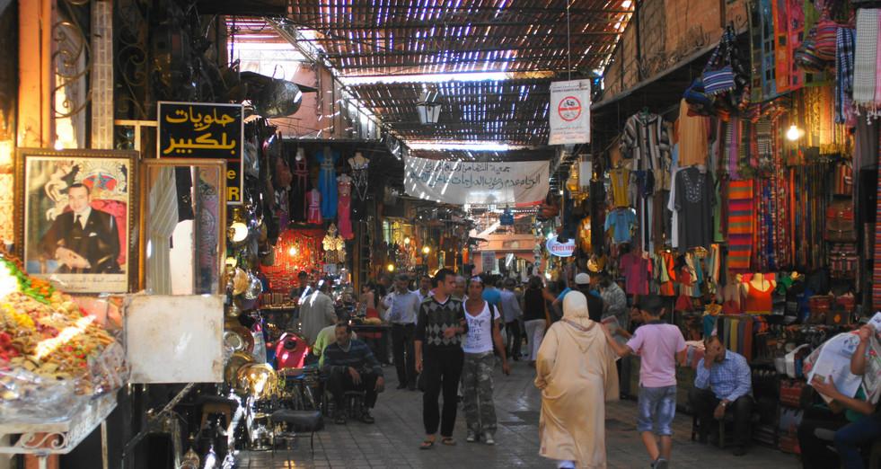 Guided tour in de Marrakech Souks