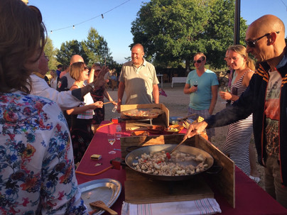 Workshop Paella koken
