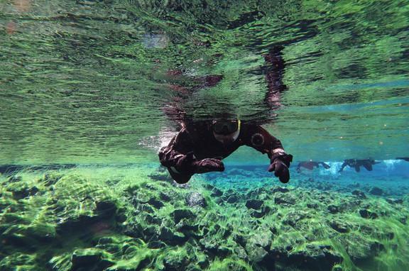 Snorkelen tussen 2 aardplaten