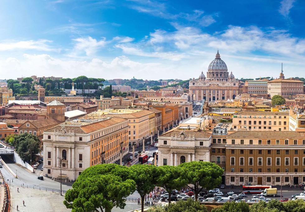 Rome Vaticaanstad beklim de Sint Pieter