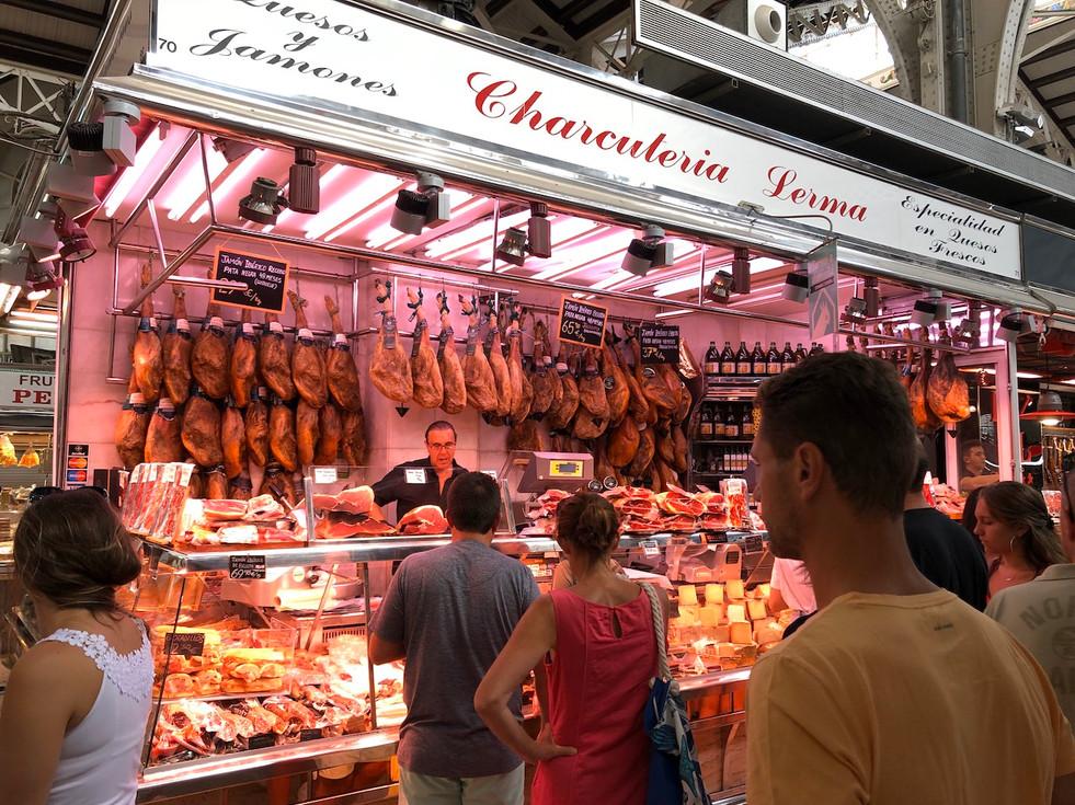 Proeverij op de Mercado Central