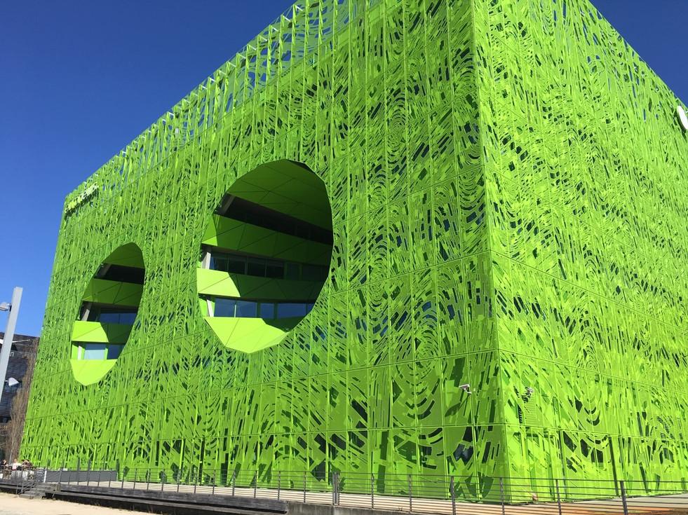Euronews gebouw Lyon