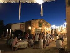 Party bij een Finca
