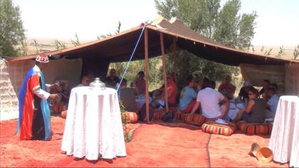 Desert lunch