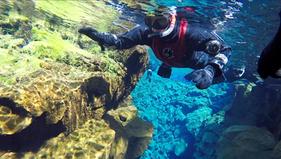 Snorkelen tussen de aardplaten