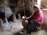Thuis bij een Berberfamilie