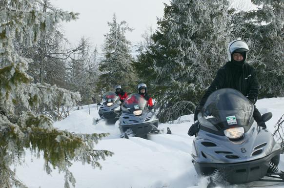 Sneeuwscooteren