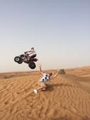 Dubai desert quad tour