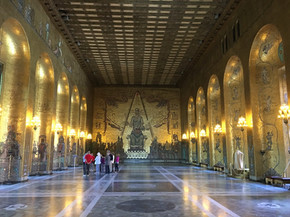 Golden Hall in the City Hall Stockholm
