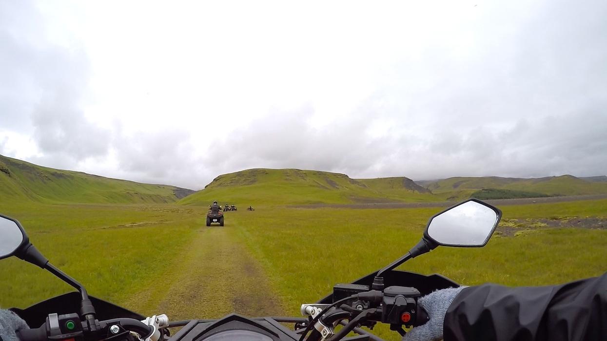 Quad tour IJsland