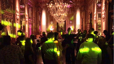 Private party at the Opera building